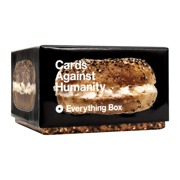 Cards Against Humanity Everything Box side cover.