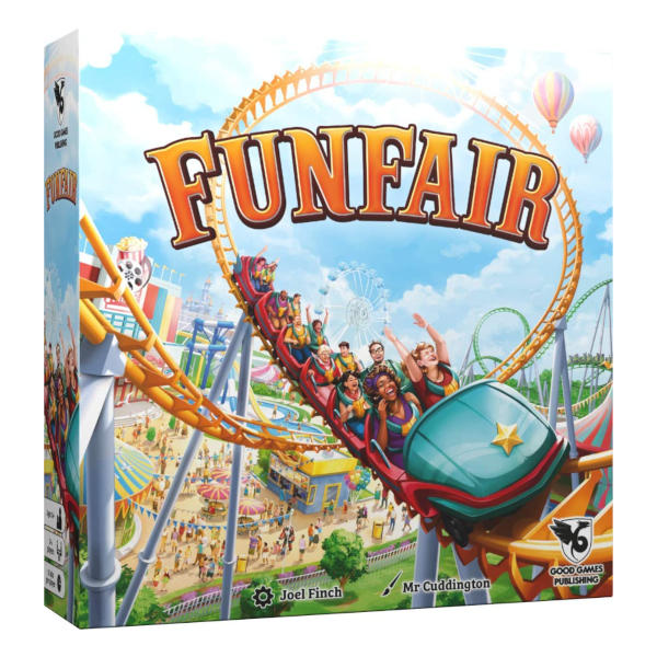 Funfair Board Game box front.
