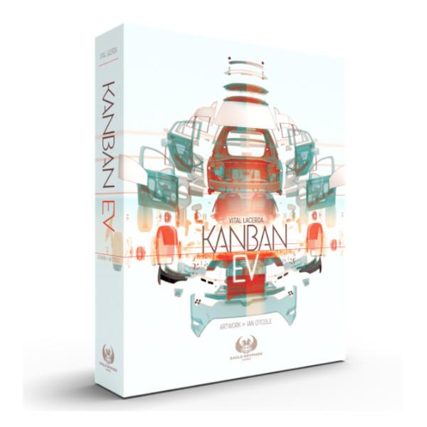 Kanban EV Board Game Box Cover.