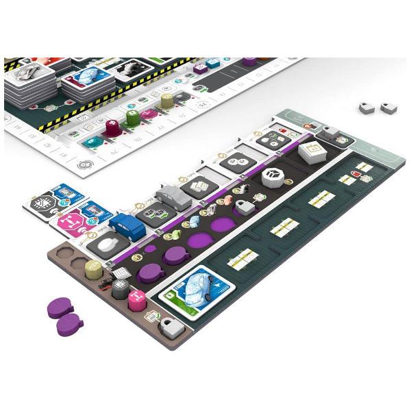Kanban EV Board Game components.