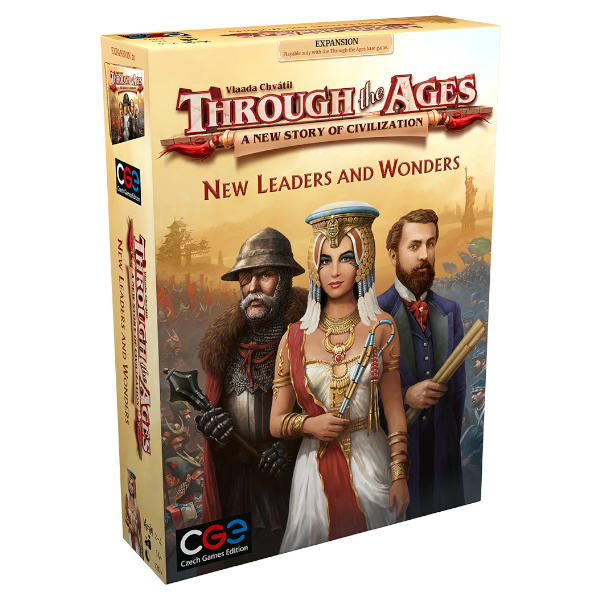 Through the Ages New Leaders and Wonders box cover.