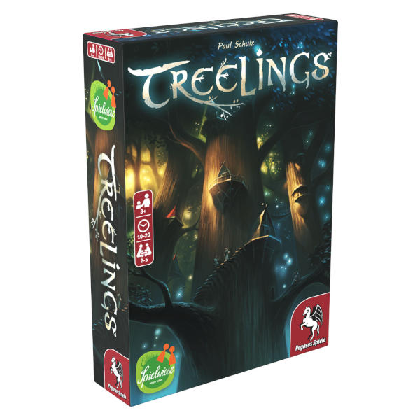Treelings Board Game front cover.