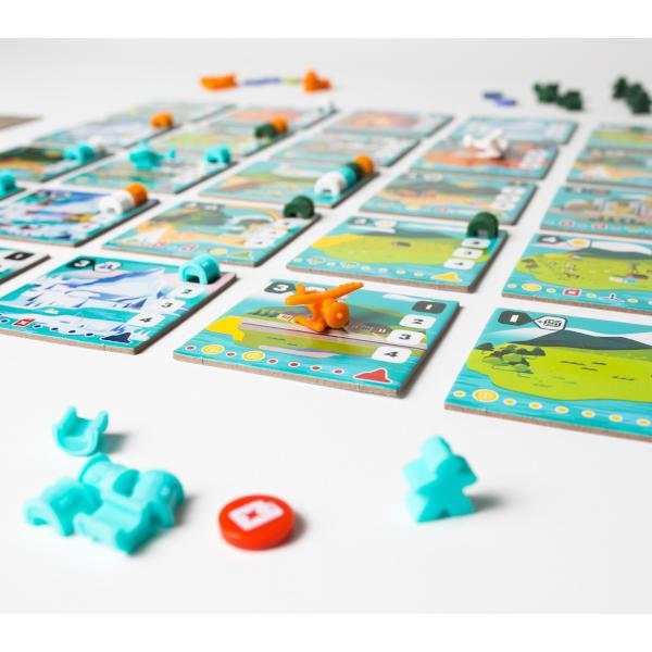 Wayfinders Board Game components.