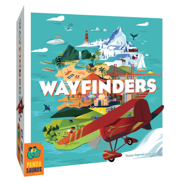 Wayfinders Board Game box cover.